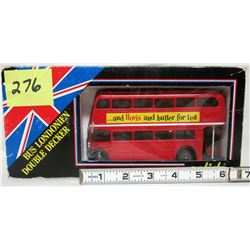 NEW London double decker bus - made in france