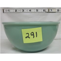 NEW Anchor Hocking Fire King 2000 Jade-ite green 8 inch ribbed mixing bowl.
