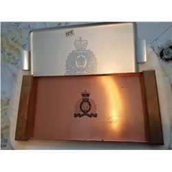 2 RCMP trays