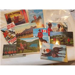 10 RCMP postcards