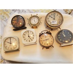 Lot of clocks - as is