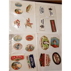 lot 2 cigar bands and labels