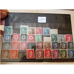 German stamp, lot 1, some rare