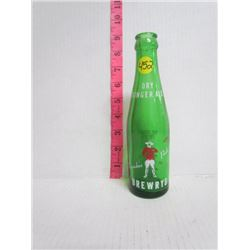 Drewery Dry Ginger ale Bottle-Mountie