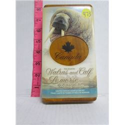 2005 Royal Canadian Mint $5.00 Silver Coin Stamp Set