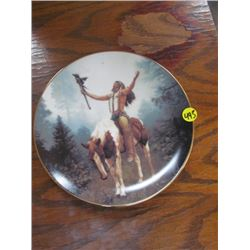 Plate-Deliverance Limited Edition Mystic Warrior Collection