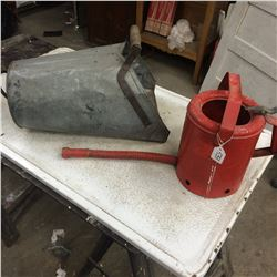 Grain Scoop and Watering Can