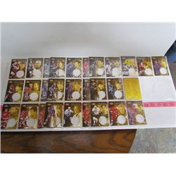 1997 Pinnacle Mint Collection-Full Set Base Cards-30 plus checklist