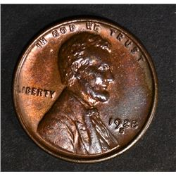 1928-S LINCOLN CENT, CH BU