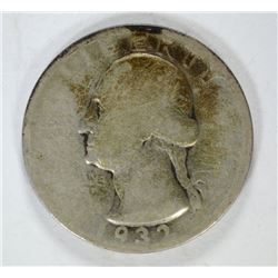 1932-S WASHINGTON QUARTER G/VG