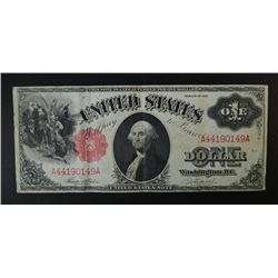 1917 $1.00 LEGAL TENDER NOTE, XF+