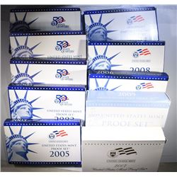 2000-2009 Proof Sets.