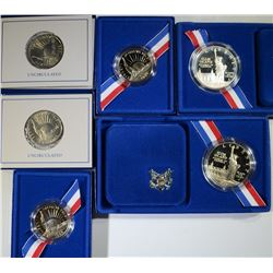 1986 Statue of Liberty Commemoratives Set