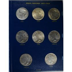 COMPLETE PEACE DOLLAR: SEE DESCRIPTION