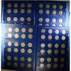 2-COMPLETE 1938-64 JEFFERSON NICKEL SETS