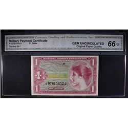 SERIES 641 $1 MILITARY PAYMENT CERTIFICATE