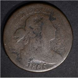 1805 LARGE CENT, G/VG