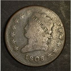 1808 CLASSIC HEAD CENT GOOD