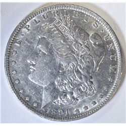 1891-O MORGAN DOLLAR  AU