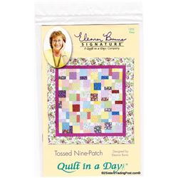 Quilt Pattern Tossed Nine-Patch