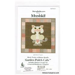 "18"" Square Walla Walla Kitty Pattern"