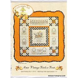 "59.5"" Square By Crab-apple Hill Halloween Pattern"