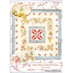 "51.5"" Square By Crab-apple Hill  Christmas Pattern"