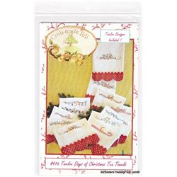 Crab-apple Hill Christmas Tea Towels