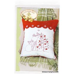 "17"" x 19.5"" Christmas Pillow by Crab-apple Hill"