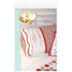 Crab-apple Hill Christmas Pillowcase Pattern