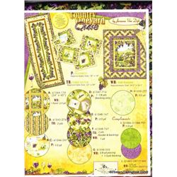 Country Vineyard' Table Runner Kit #3633