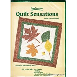 Falling Leaves' Wall Quilt Kit