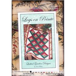 "Logs on Pointe' Quilt Kit 53"" x 66"""