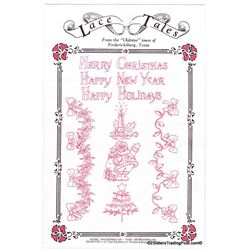 Lace Tales Christmas Transfers