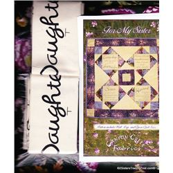 "Forever My Daughter' Lap Quilt Kit 61"" x 73"""