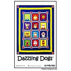 Dazzling Dogs' Quilt Pattern