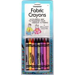 Collins Fabric Crayons