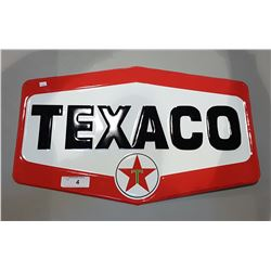 TEXACO TIN SST SIGN EMBOSSED
