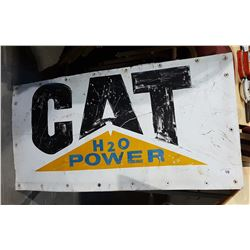 ORIGINAL CATERPILLAR METAL SIGN