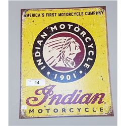 INDIAN MOTORCYCLES SST SIGN