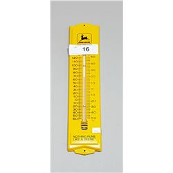 JOHN DEERE TIN THERMOMETER