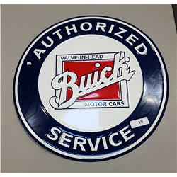 BUICK SERVICE SST EMBOSSED SIGN