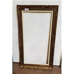 VINTAGE CARVED GILT WOOD PICTURE FRAME