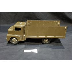 1950'S STRUCTO TOYS STEEL ARMY TRUCK