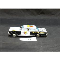1960'S TIN FRICTION POLICE CAR