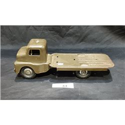 1950'S STRUCTO STEEL ARMY TRUCK