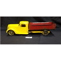 1940'S BUDDY L STEEL TOY TRUCK