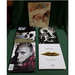 LOT OF 6 ART BOOKS