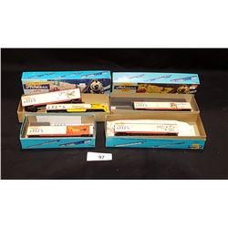 4 BOXES ATHERN TRAINS