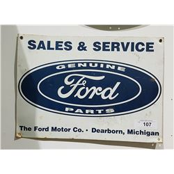FORD SALES & SERVICE SST SIGN